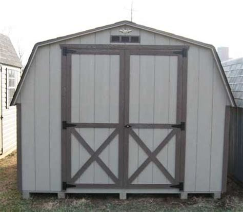 10x12 mini barn wood shed kit