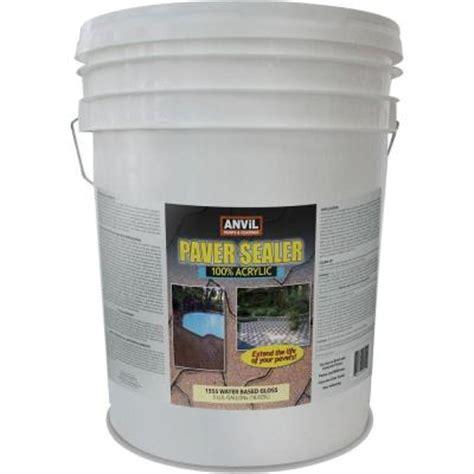 anvil 5 gal clear gloss 100 acrylic interior exterior