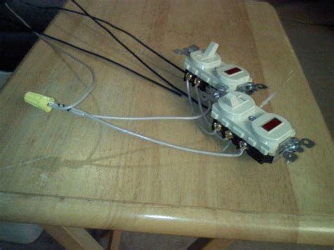Wire Two Way Switches Both With Pilot Lights Electrical