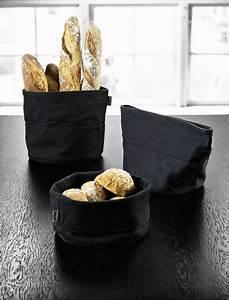 Corbeille à Pain Design : corbeille pain bread bag beige blanc stelton ~ Teatrodelosmanantiales.com Idées de Décoration