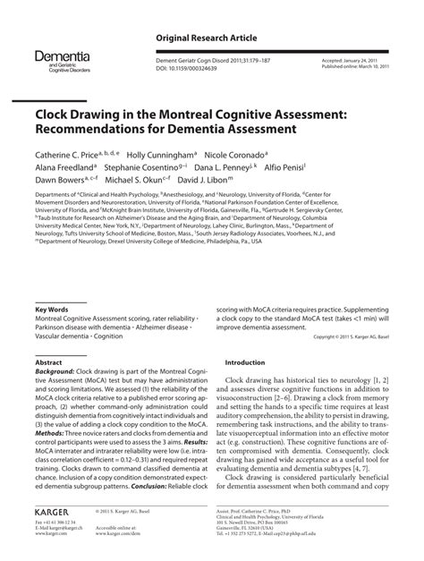 Moca stands for multimedia over coax alliance, which is an open industry standards consortium. (PDF) Clock Drawing in the Montreal Cognitive Assessment ...