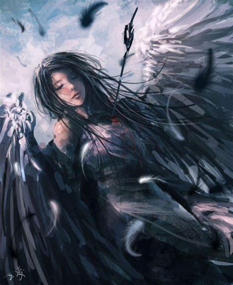 Фэнтези девушки от Wang Ling Фэнтези Воительницы