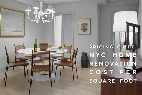 Wainscoting Cost Per Foot by Sweeten Pricing Guide Nyc Home Renovation Cost Per