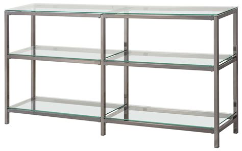 bookcases industrial metal bookcaseconsole  glass