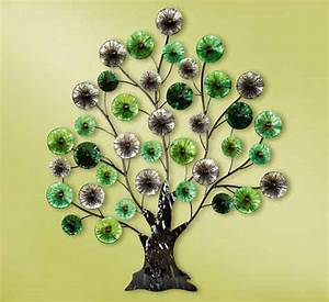 Wanddeko Baum Metall : wanddeko baum metall farbig 102 cm g69678 wandobjekt wandbild wandschmuck ebay ~ Whattoseeinmadrid.com Haus und Dekorationen