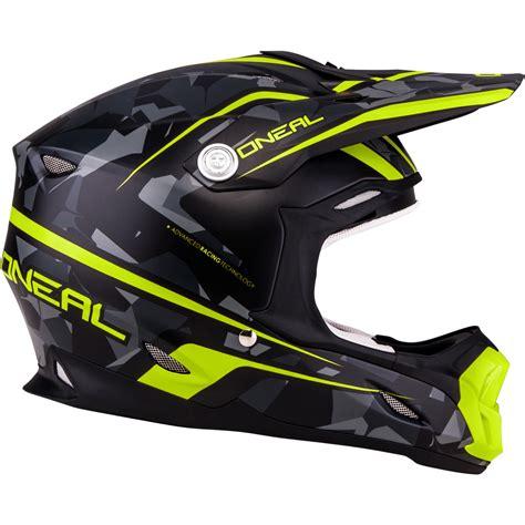 motocross helmet for sale oneal 7 series camo yellow grey motocross helmet acu
