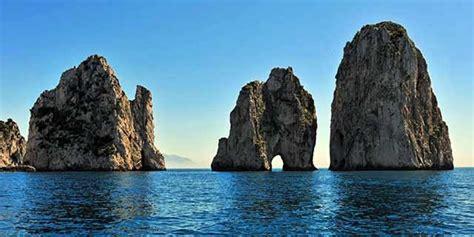 Capri A Beautiful Island Near Naples And Grotta Azzurra