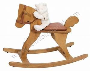 Cheval à Bascule Bebe : cheval bascule moulin roty ~ Teatrodelosmanantiales.com Idées de Décoration