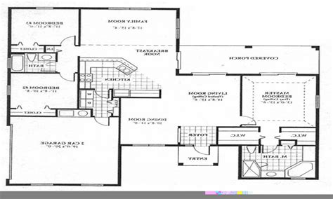 1 open floor plans house floor plan design simple floor plans open house