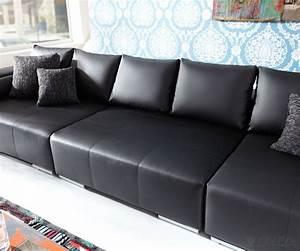 Big Sofa Eckcouch : big sofa schwarz fabulous funktion ohne with big sofa schwarz finest big sofa couch garnitur ~ Indierocktalk.com Haus und Dekorationen
