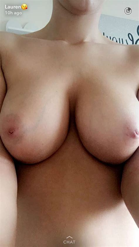 Nude Model Lauren Louise Flashes Her Huge Boobs Tight