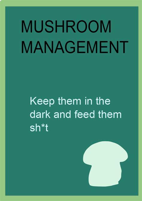 mushroom management wikipedia