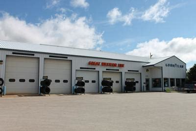 great western tire  celebrates  years  spearfish