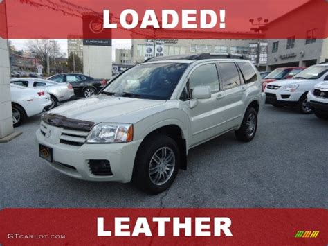 2004 Mitsubishi Endeavor Limited by 2004 Dover White Pearl Mitsubishi Endeavor Limited Awd