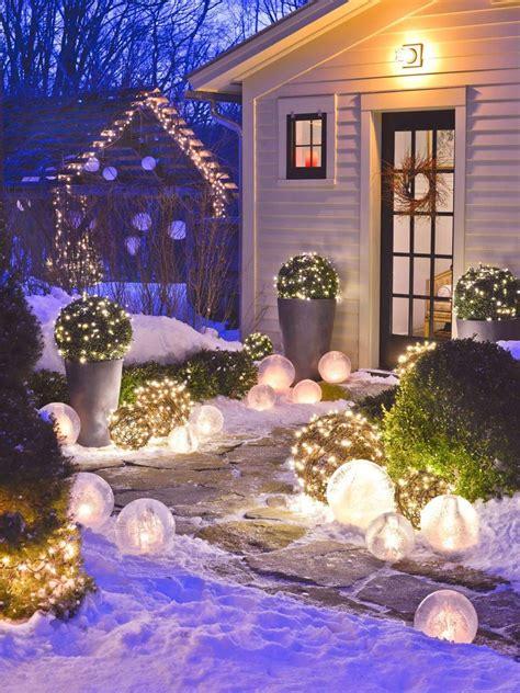 belles inspirations pour réaliser une décoration d extérieur créative dans l esprit de noël