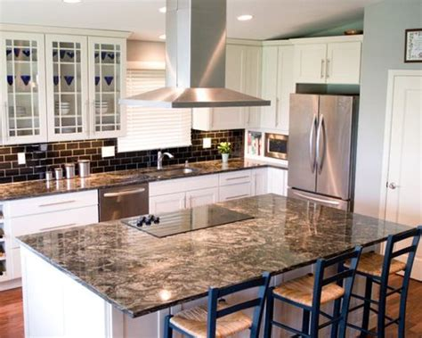 traditional kitchen backsplash cosmos granite ideas pictures remodel and decor 2897
