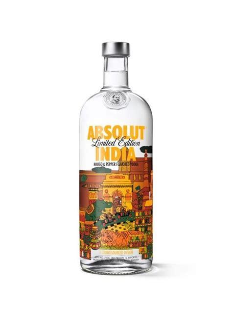 india inspired vodka bottles absolut india