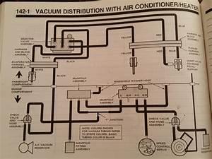 1992 Ac Vent Defrost Vacuum Problem
