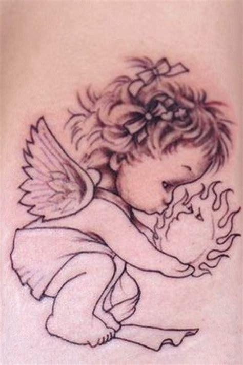 Baby Angel Tattoo Designs  Combine Blog