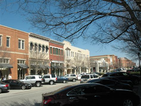 Southlake- Looking Down Mainstreet @ Town Center Square