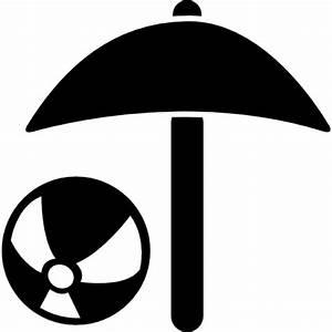 sonnenschirm und strandball download der kostenlosen icons With französischer balkon mit sonnenschirm icon