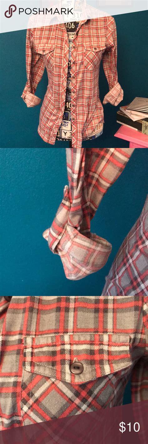 Cute Button Up Flannel Clothes Design Fashion Fashion
