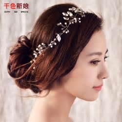 hair ornaments women headband handmade hair ornaments pearl jewelry