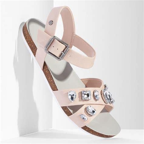 obsessed vera wang  kohls crystal embellished sandals