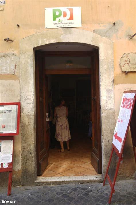 Pd Roma Sede by Romait Storica Sede Pd Roma Via Dei Giubbonari Chiude