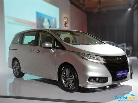 motor honda indonesia 2017 honda odyssey facelift launched in indonesia auto