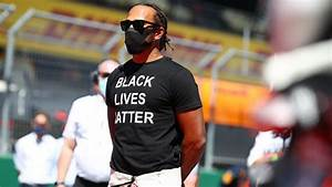 lewis hamilton takes a knee as f1 stands against racism