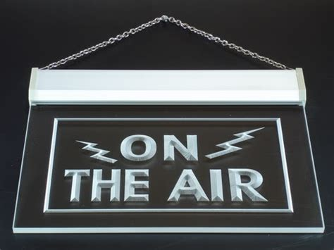 tnt amateur radio communications operator lighted neon sign