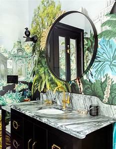 This, Designer, U0026, 39, S, Whimsical, Bathroom, Feels, Like, A, Lush, Oasis