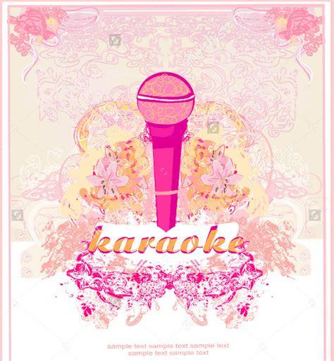 karaoke night flyer templates eps psd ai word