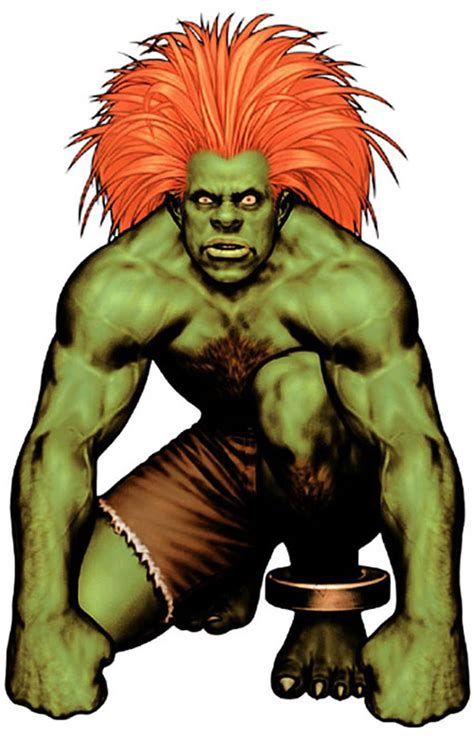 Blanka Street Fighters Second Take Character Profile