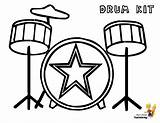 Coloring Drum Musical Drums Pages Kit Instrument Boys Sheet Kits Printables Instruments Draw Drawing Drawings Pounding Yescoloring Percussion sketch template