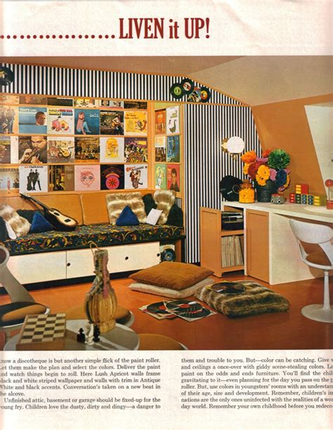 home renovation ideas interior 16 mod interior designs from 1968 retro renovation