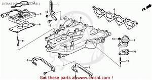 92 Integra Exhaust System Diagram