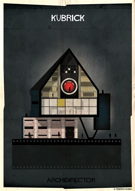 Federico Babina Illustrates The Imaginary Architecture Of