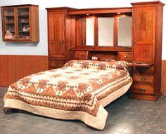 bedroom set with storage amish american heritage pier wall platform bed with 18 14401 | da8072adec973a38442a31b32fa7a639
