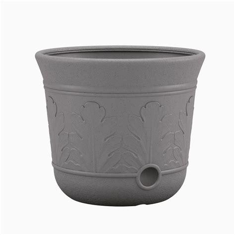 suncast grey resin hose pot cplhpl100 the home depot