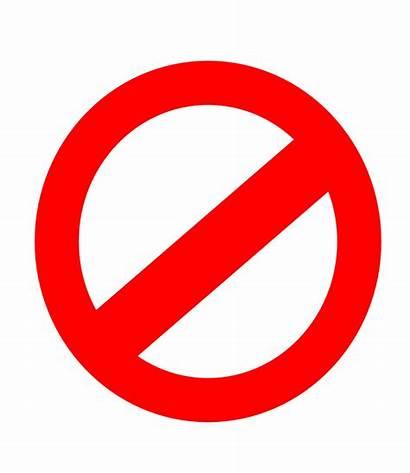 Restrictions Clipart Symbol Clip Forbidden Sign Copyright