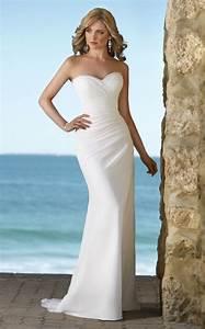 Exotic Beach Wedding Dresses | Handmade Elegant Beach ...