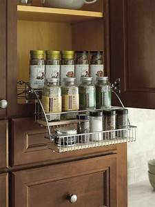 pull down spice rack my christmas list pinterest With kitchen cabinets lowes with candle dish holder