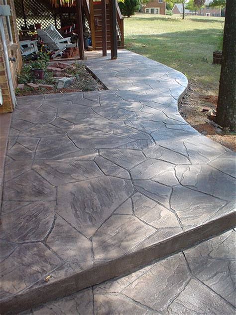 flagstone in concrete sted concrete flagstone flickr photo sharing