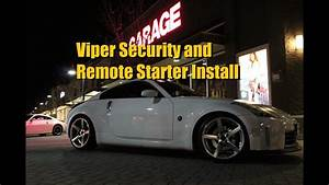 Builds  Nissan 350z Viper 5806v Security System And Remote