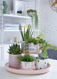 Grünpflanzen Für Innen : tischdeko basteln die kreativit t f rdern zimmerdeko pinterest pflanzen garten und ~ Eleganceandgraceweddings.com Haus und Dekorationen