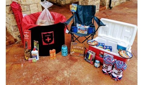 Fire Pit/backyard Bonfire Gift Basket
