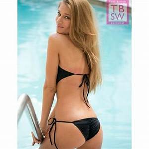 Black Rio Back Monokini - Triangle Top from Todd Barrett