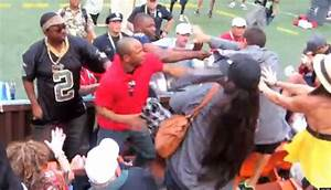 Pro Bowl Fight: Fans Brawl In Stands While AFC Players ...